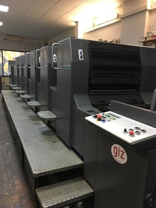 Heidelberg SM 74-6 Sheet Fed