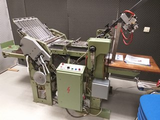 Herzog Heymann M3 + S18 Folding machines