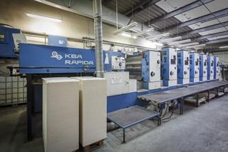 KBA Koenig & Bauer Rapida 104-6 Offset de pliegos