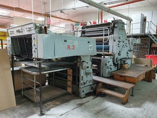 MAN Roland Ultra RZU 5 Sheet Fed