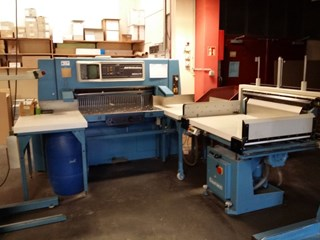 Wohlenberg 115 MCS-2TV Guillotines/Cutters