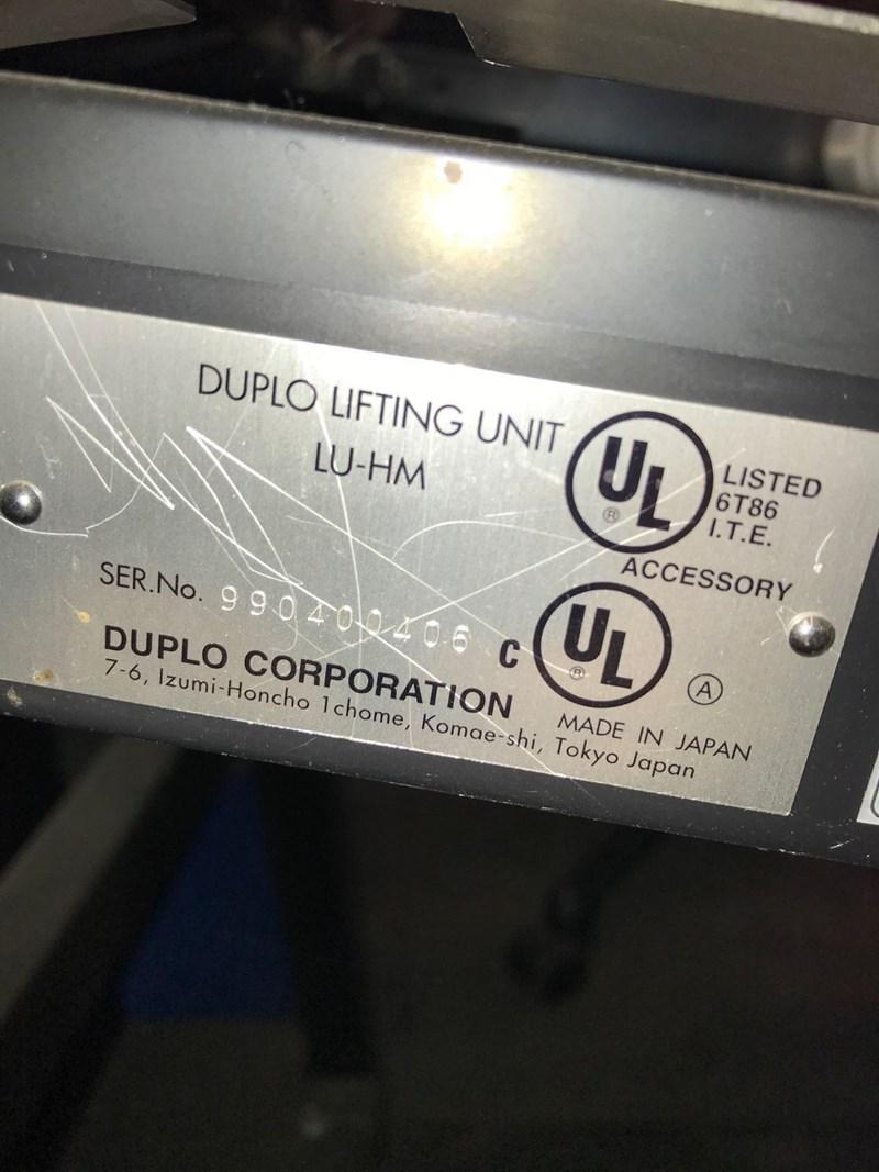 Duplo Collator DC-1000S