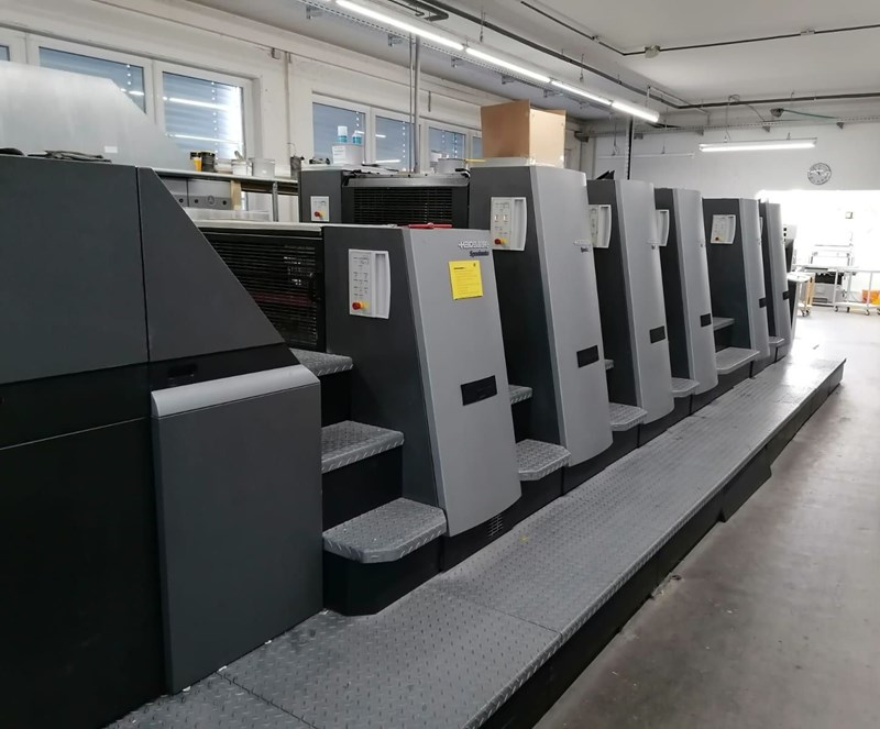 Show details for Heidelberg SM CD 74-5-P+L-C
