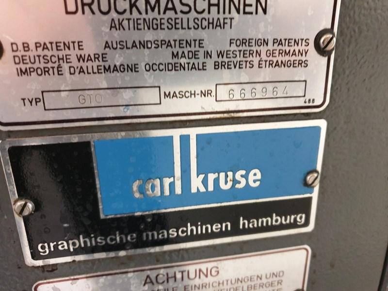 Heidelberg GTO 46