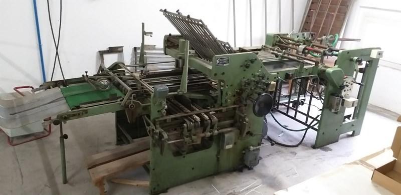 Schmidt Bielefeld folding machine