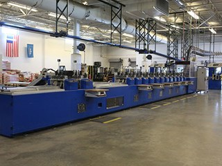 Muller Martini GMA SLS 2000 Mail Room Equipment