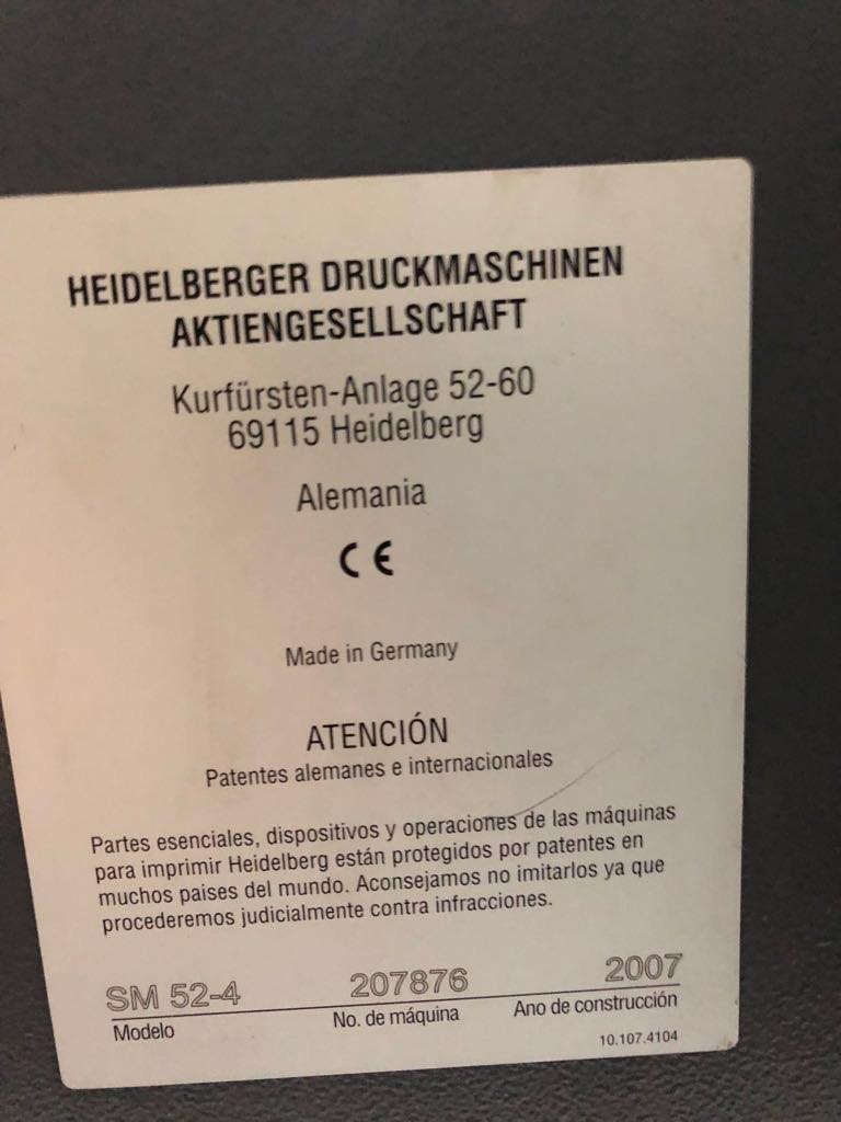 Heidelberg SM52 4