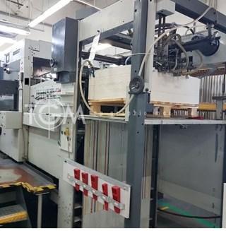 Bobst SP102 BMA Hot Foil Stamping