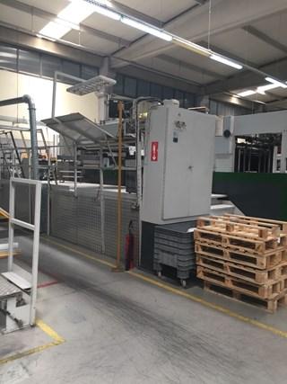 BOBST SP142ER AUTOPLATEN Carton Gluers