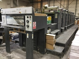 HEIDELBERG SM74 8P, 8 COLOUR PRESS Sheet Fed