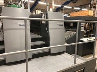 Heidelberg XL105 fully automatic spot & surface coater Finishing