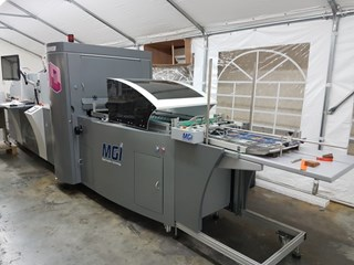 MGI JET VARNISH 3D DIGITAL SPOT/SURFACE COATER Finishing