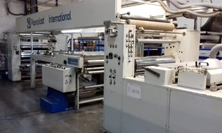 PAPERPLAST 102SF/F SOLVENTLESS LAMINATOR Finishing