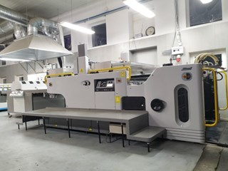 Sakurai MS102AII spot coater Finishing