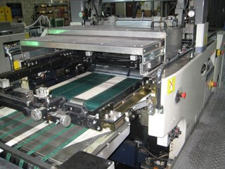 SAKURAI MAESTRO MS80A SPOT COATER Finishing