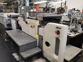 Sakurai MS80AII spot coater Finishing