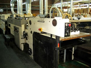 SAKURAI SC102DX SPOT COATER Finishing