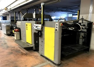 SPS, CP2 CYBERPRESS AUTOMATIC SPOT COATER  Finishing