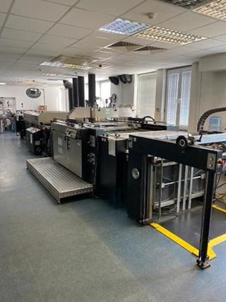 SPS Vitessa XP2 automatic silk screen printing line Finishing