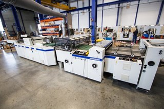 Steinemann Colibri 104 Surface Coater Finishing