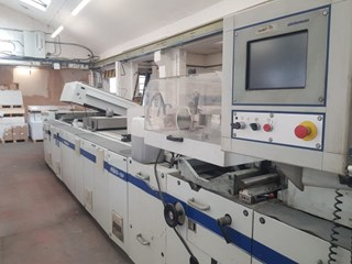 Steinemann Hibis 104 rotary spot & surface coater Finishing