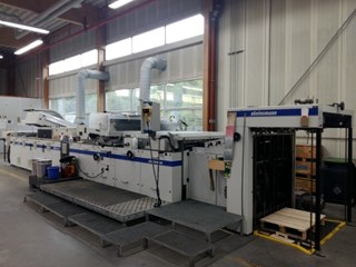 Steinemann Hibis 104 Finishing