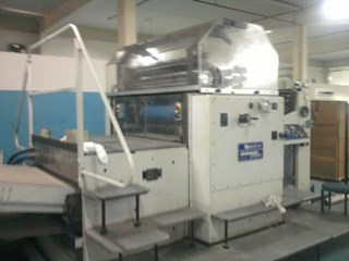 Steinemann Topspot 102 Spot & Surface Coating machine Finishing