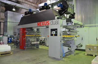 Laminator Comexi Nexus Dual Labels and Forms