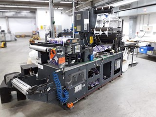 Gallus Arsoma EM 510, automatic Label Die-Cutting machine - IML DÉCOUPE