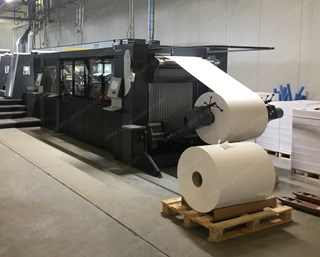 Heidelberg Cutstar 106, 2013, only 1 mil. CUTS! Sheetfed components