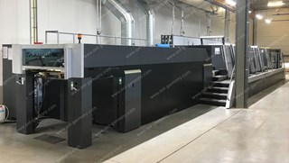 HEIDELBERG SM XL 106-6-P+LX4 - 18K!! - 2013 - LIKE NEW!  Machines offset à feuilles