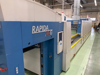 KBA Rapida 74 - 5L+T+T+L   CX ALV 2 Sheet Fed