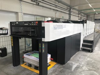 Komori Lithrone  G 537 Offset de pliegos
