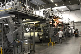 POLYTYPE BB 2200 LAMINATION LINE (Swiss made) Web Components