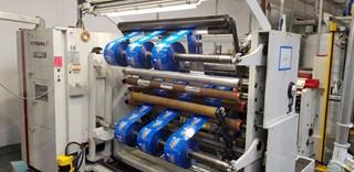 Titan, Bobst Group SR 8 Slitter Rewinder (min. 20 micrones!) Rewinder