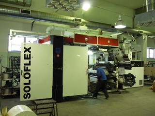 Soloflex 8L  8 Colors CI Flexo Printing Press Flexo