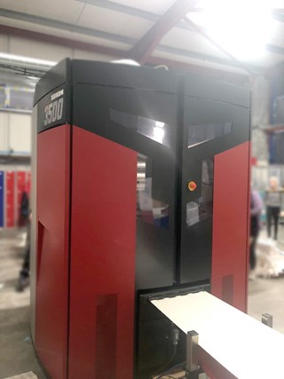 Xeikon 3500 digital printing machine for labels and packaging Digital Printing