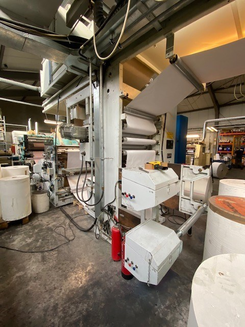 Show details for  Bielloni Saba Millenium  6 Colours CI Flexo Printing Machine