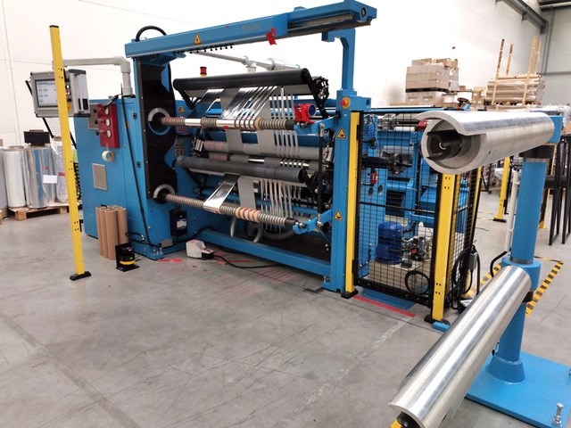 Show details for Double-shaft film slitter-rewinders Kampf StarSlit 14/06