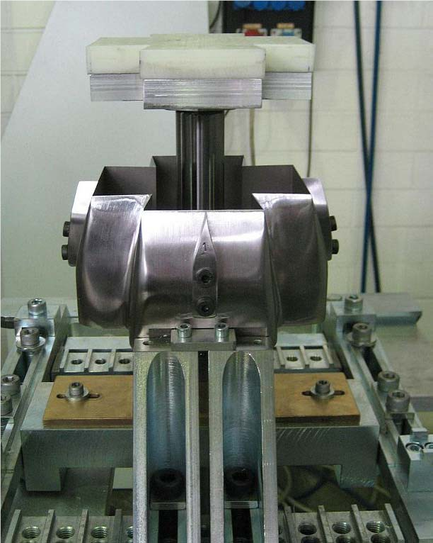 Stand-alone die cutter Polar DCC-M  with counter pressure