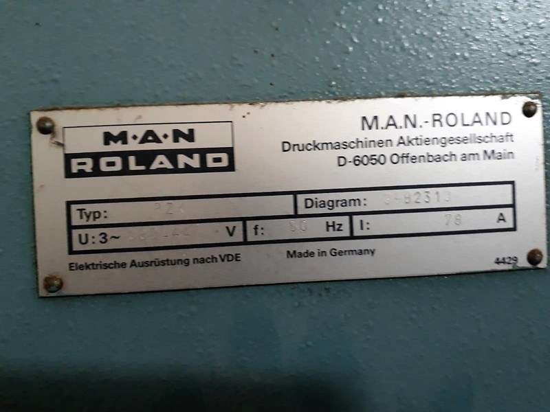 Manroland Rekord RZK 3B