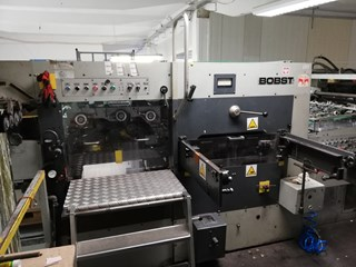 Bobst SP 102 BMA Estampa en caliente