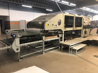 BOBST SPO 1575 EE - FULLY AUTOMATIC FLATBED DIE-CUTTER Die Cutters - Automatic and Handfed