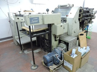Hot Foil Stamping machine Gietz FSA 720 Die Cutting