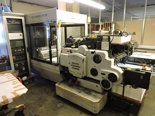 Heidelberg cylinder SBG with hot foil CAVOMIT TIPO