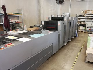 Heidelberg SM 52-4P3+L Sheet Fed