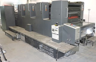Heidelberg SM 74-4-P3 Sheet Fed