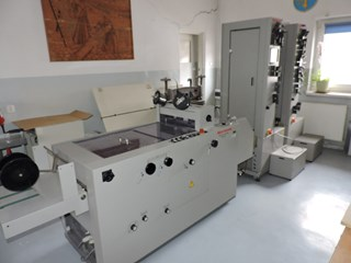 Booklet-making system Horizon SPF 20+VAC-100a+VAC-100m+Trimmer FC20+Jogger PRODUCTION DES BROCHURES