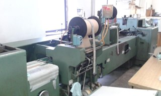 KOLBUS  BF 98 casing-in machine  Hard Cover Book production