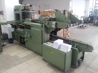 Kolbus EMP 580 + Kolbus FE 560 Hard Cover Book Production